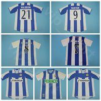 2003 2004 1999 2000 Deportivo de la Coruna Retro Soccer Jersey 7 Makaay 8 Djalminha 9 Tristan Valeron Helder Ziani Football Hemd Kits