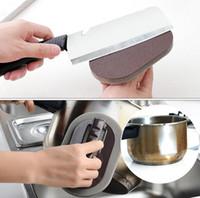Herramientas Gadgets de cocina mágica descontaminación fuerte cepillo de baño de esponja de cocina Azulejos cepillo para lavar platos limpios Accesorios brushs con mango
