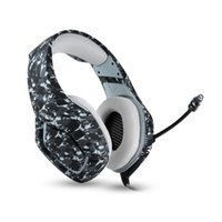 New Hot Released ONIKUMA K1B Camouflage Grey Headset Noise C...