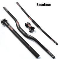 RACE FACE NEXT MTB دراجة الكربون المقود SET الجبل ارتفاع دراجة المقود ووقف ومقعد آخر الكربون أجزاء الدراجات مجموعة