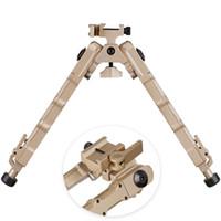 التكتيكية الصيد بندقية bipod br-4 الترباس عمل دي سريعة detach bipod صالح 20 ملليمتر picatinny السكك الحديدية ل بندقية نطاق