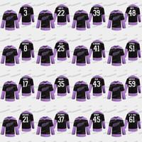 3 Alex Biega 2020 Hóquei Lutas Cancro Detroit Red Wings Anthony Mantha Jimmy Howard Eveny Svechnikov Darren Helm Valtteri Filppula Jersey