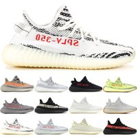 24fe62414222e Adidas yeezy 350 V2 Adidas yeezy boost 350 v2 Hommes Chaussures Beurre  Sesame 350 V2 V1