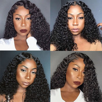 Cheap Price Kinky Curly 13x4 Lace Front Wig Full Lace Human ...