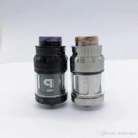 New Clone QP Designs JuggerKnot Mini RTA substituível Tanque Atomizador vaporizador Single Coil ajustável Top Airflow 810 Drip Tip Hot bolo