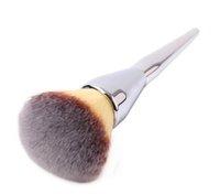 도매 브랜드 하늘 럭스 전문 메이크업 브러쉬 금속 handlecosmetics 재단 분말 팬 가부키 브러시 도구를 구성합니다.