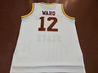 Benutzerdefinierte Männer Jugend Frauen Jahrgang 1992 Florida State Charlie Ward # 12 Basketball-Jersey-Größe S-4XL oder benutzerdefinierten beliebigen Namen oder Nummer Jersey