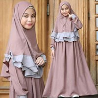 Ethnische kleidung kinder hijab dress 2021 s baby mädchen kleidung muslim kleider ramadan abaya dubai türkei caftan marocain islamic vestidos