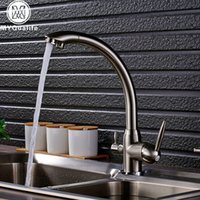 Brand New Kitchen Sink Faucet Tap Filtro acqua pura Mixer Gru Dual Handles Purificazione Kitchen Hot and Cold Faucet