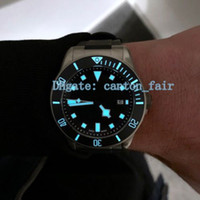 Upgraded version Luxury mens watch 42 mm Steel Black Dial Me...