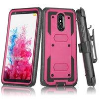 Pour Motorola E7 E 2020 G4 G5 G7 G8 Power E4 E6 G5S Plus Jouer à l'écran de défenseur Clip Belt Kickstand Heavy Duty Heavy Devoir PROTECTABLE TÉLÉPHONE Couverture