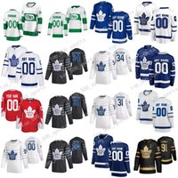Toronto Maple Leafs 2020 All Star Jersey John Tavares Auston Matthews William Nylander Jason Spezza Frederik Andersen Rielly Kapanen Hockey