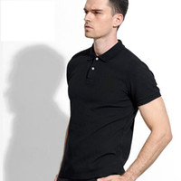 Fashion- Neues Logo Marke 2018 Krokodilstickerei Polo-Shirt Men Kurzarm Casual Shirts Mann Solid-Polo-Hemd plus 5XL 6XL Camisa Polo