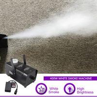 Sharelife Mini 400W control remoto portátil humo blanco Etapa de iluminación LED DJ del efecto de visualización máquina de la niebla W400