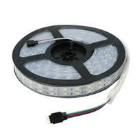 IP20 IP67 120LEDs / m 더블 행 SMD 5050 LED 스트립 12V 실리콘 튜브 방수 유연한 라이트 5meter / lot 크리스마스 Led 스트립