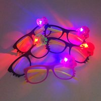 Creative LED Flashing Glasses Mask Party Dance Cheer Glowing...