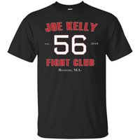 Black Shirt 56 Joe Kelly Fight Club Est 2018 T- Shirt Mens Si...
