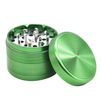 Grinder Aluminium Alloy Grinder 4 Layers Thread Smoking Grin...