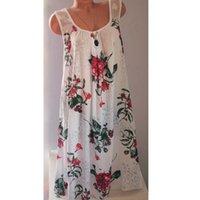 Camicette da donna Camicie Summer Donne Canotte Tops Plus Size Senza maniche Top Ricamo Hollow Out Pizzo Ladies Bianco Abbigliamento Vesione Vesione Femme