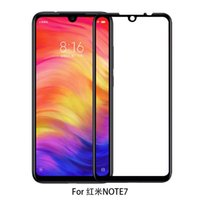 Redmi Note 7 Full Cover Tempered Glass Screen Protector For ...