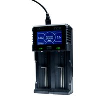 Freeshipping TC2 LCD Ekran USB Pil Şarj 3.6V / 3.7V 32650 26650 18650 16340 14500 Li-ion ve 1.2V AAA AA Ni-MH / Ni-CD için