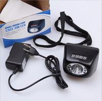 3W Cree LED 18Hours 4500-10000LUX Mina Faro LCD Digital Pantalla de la lámpara de la lámpara Luces de la luz de la cabeza de la minería con el cargador