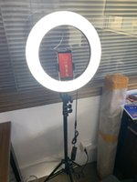 10 pollici YouTube Trucco Video Video Live Shooting LED Live Stream Selfie Light with Treppied Stand Relpholer Video PhotPraphy Circle Tikok