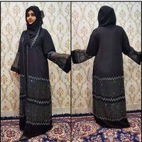Abbigliamento islamico Hijab abito da musulmano del Ramadan Eid Mubarak Abaya Dubai Femme lusso turco abiti africani Abayas per le donne Kaftan