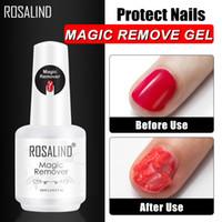 Marque Remover magique Nail Gel Polish Remover Tous Manucure serviette non pelucheux Cleaner ongles dégraissant 15ml UV