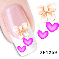 Nail Art Fashion Decals Sticker Animals Pattern Water Transf...