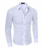 Shirt Vender Hot Men shirt dos homens de Moda de Nova Men Social Business Tuxedo manga comprida vestido ocasional camisas Asiático Tamanho 5XL
