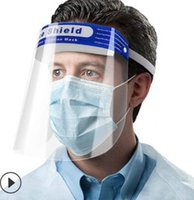 Fast Shipping Safety Faceshield Transparent Full Face Cover ...