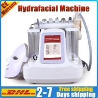 8 dans 1 machine à HydraFacial hydro dermabrasion soins de la peau du visage équipement de beauté peler eau microdermabrasion professionnel nettoyage en profondeur
