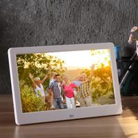 10 pouces numérique cadre photo cadre LED rétroéclairage album électronique image musique vidéo pleine fonction bon cadeau pour amis famille