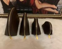 Mulheres coisas Sacos Sacos Cosméticos Famosas Maquiagem Bolsas De Maquiagem Bolsa de Viagem Make Up Senhoras Embraiagem Combinado Hospedaria 4 Pcs / Set