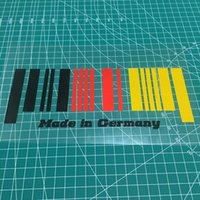 21 * 8,3 CM Made in Germany Flagge Barcode kreatives Auto Aufkleber CA-632