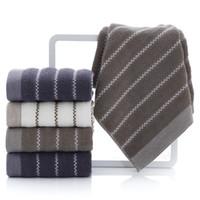 الشحن تصميم شعار المصنع مباشرة الجملة مخصص القطن منقوشة منشفة الكبار غسل منشفة الوجه