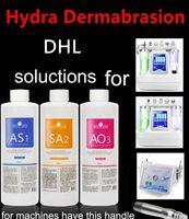 Solução de Peeling Aqua AS1 Frascos SA2 AO3 / 400 ml por frasco soro Aqua Hidra Facial Dermabrasão para microdermabrasão cutânea Normal