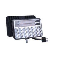 Crestech 5 pouces 135W Dual Color LED PODS OFF ROUTE CONDUCTEUR DE BROUILLAGE 3000K JAUNE 5000K WHITE