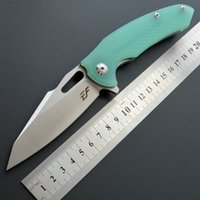 cuchillo plegable de la manija Eafengrow EF28 58-60HRC D2 G10 de la lámina acampa de la supervivencia herramienta Cuchillo de bolsillo caza EDC táctico herramienta al aire ke regalo multi