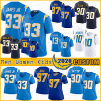 10 Justin Herbert 33 Derwin James Los Angeles