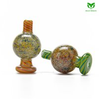 Glass Carb Cap Hat with with Air Flow Function OD 25mm Color...