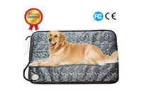 X-Large Pet Heating Pad Pet Heated Blanket Warm Pets Heat Mat for Dogs Cats with Chew Resistant Steel Cord, Waterproof Electric Heating Pad