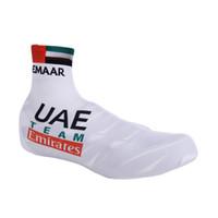 2019 UAE PRO equipe de ciclismo Tampa da sapata BICICLETA shoecovers TAMANHO: S-XXL