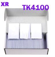 125KHz rfid étiquettes de proximité Carte blanche en PVC em TK4100 / EM4100 pour porte d'accès de verrouillage des commandes Timing Surveillance du système 100Pcs rapide des navires