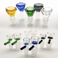 tuyau d'eau de la cuvette de verre bols 13 Style de 14mm et 18mm Homme verre / silicone bong dab plates-formes livraison gratuite