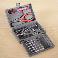 10 set / lotto 24 PZ Cacciavite Pinze Attrezzi a mano Set Set multifunzionale Universale Strumento di riparazione per uso domestico Portable Toolbox toolbox
