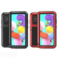 For Samsung Galaxy A71 LoveMei Heavy duty Protective Cover F...