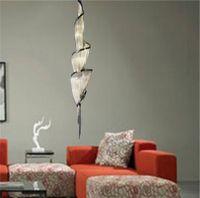 Modern Püskül Alüminyum Avize Aydınlatma Lambası Tavan Otel Bar Ev Oturma Odası Kolye Işık Fikstürü PA0032