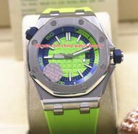 5 estilo reloj de alta calidad vendedor caliente 42 mm submarino 15703 15710 15710ST.OO.A038CA.01 Asia mecánico automático de los hombres de los hombres